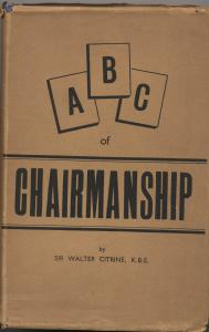 ABC of Chairmanship