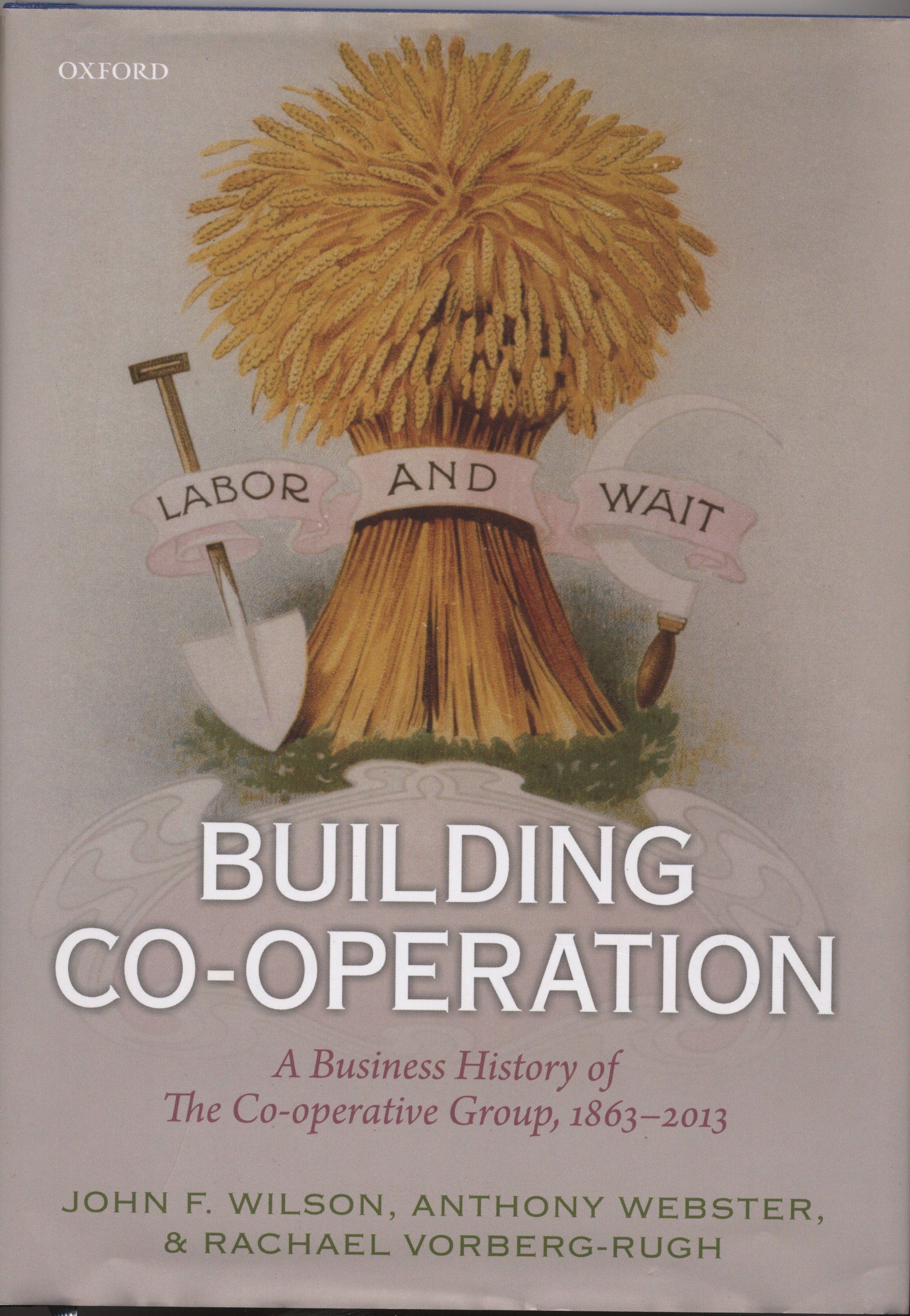 Business Book Cover History : Building co operation a business history of the